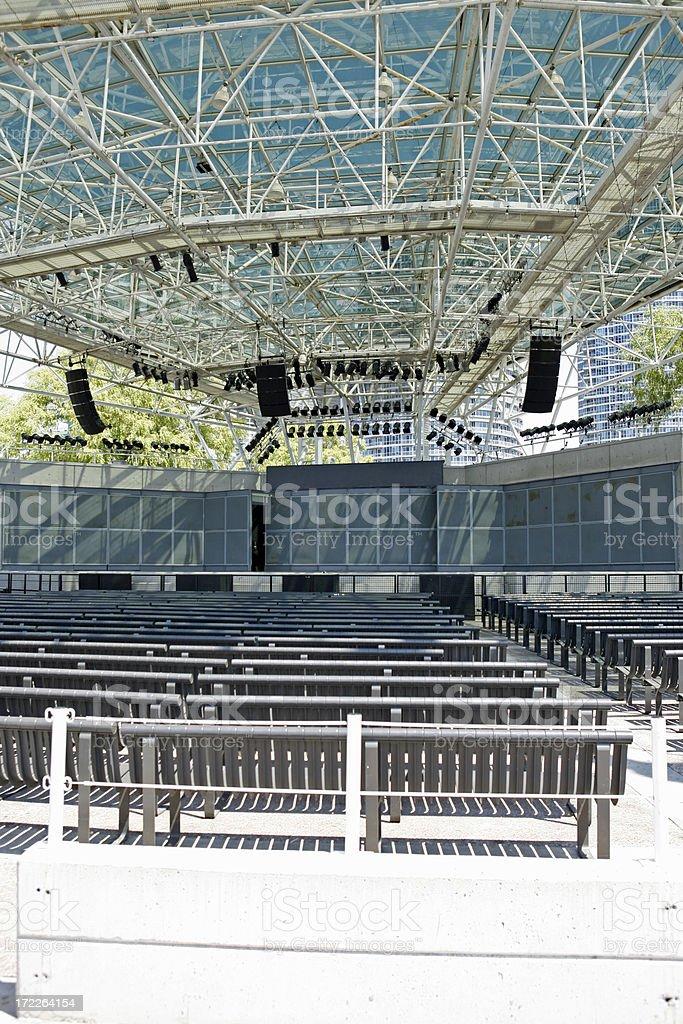 Outdoor Concert Venue royalty-free stock photo