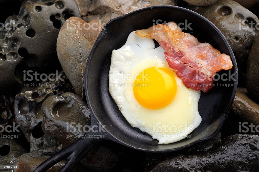 Outdoor Cooking royalty-free stock photo