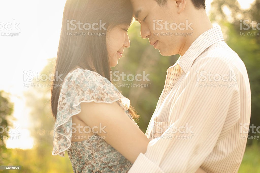 Outdoor Couple royalty-free stock photo