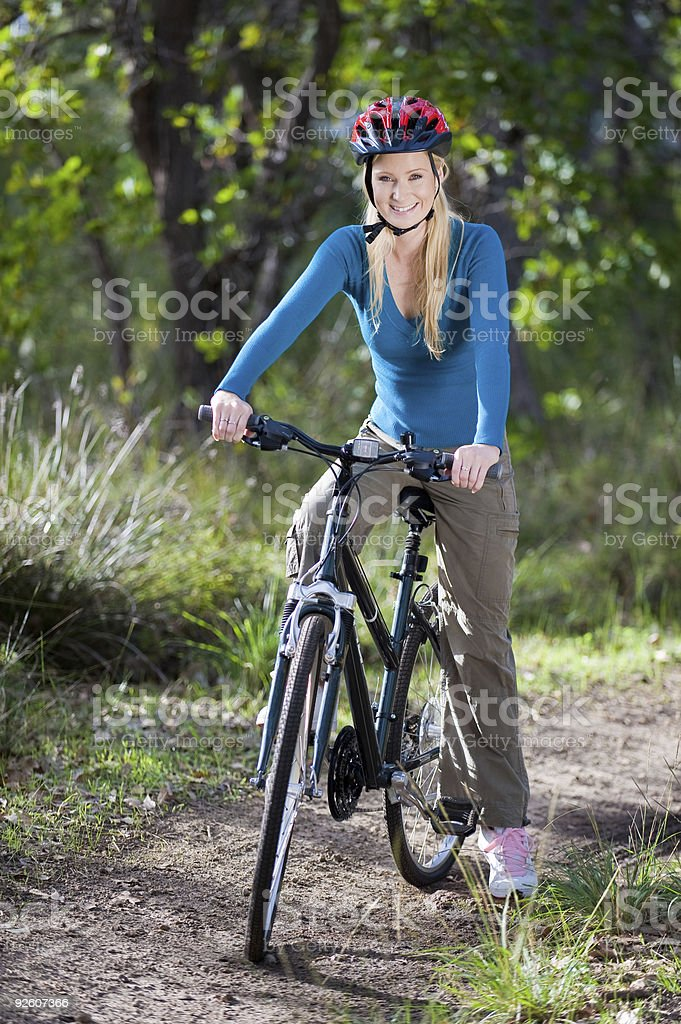 Outdoor Cycling stock photo