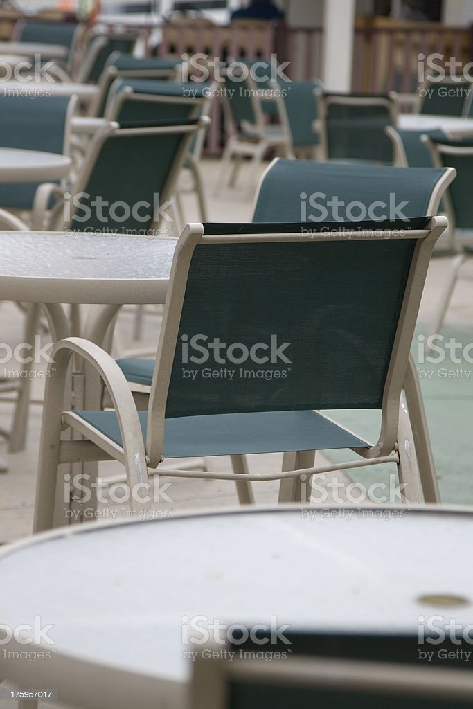 Outdoor Eatery royalty-free stock photo