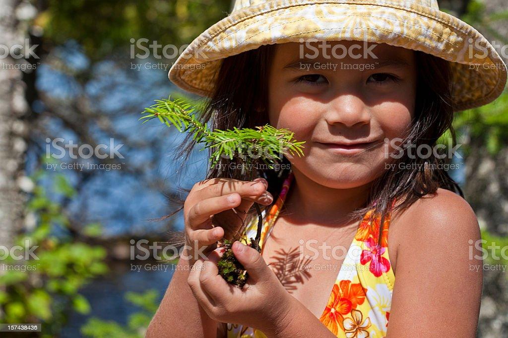 Outdoor Education royalty-free stock photo