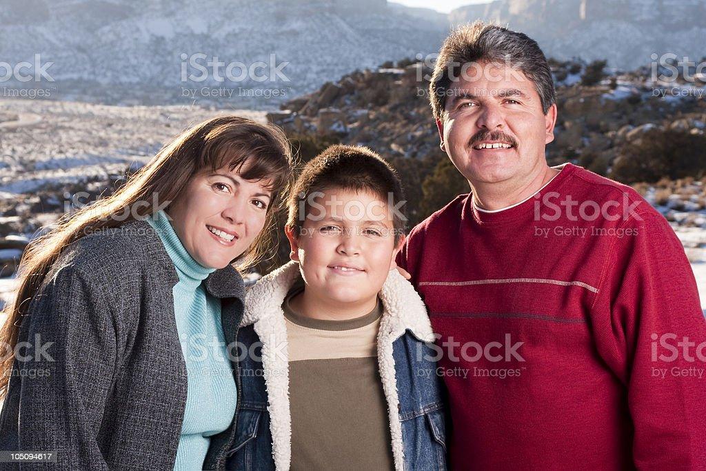 Outdoor Family royalty-free stock photo