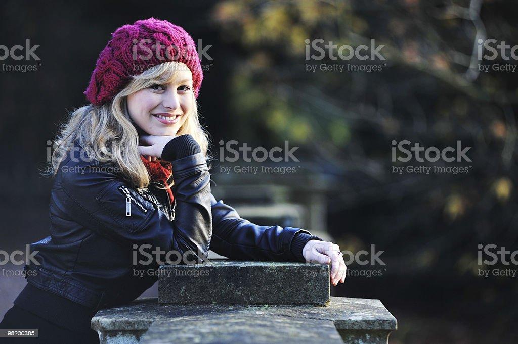 Outdoor Fashion Portrait royalty-free stock photo