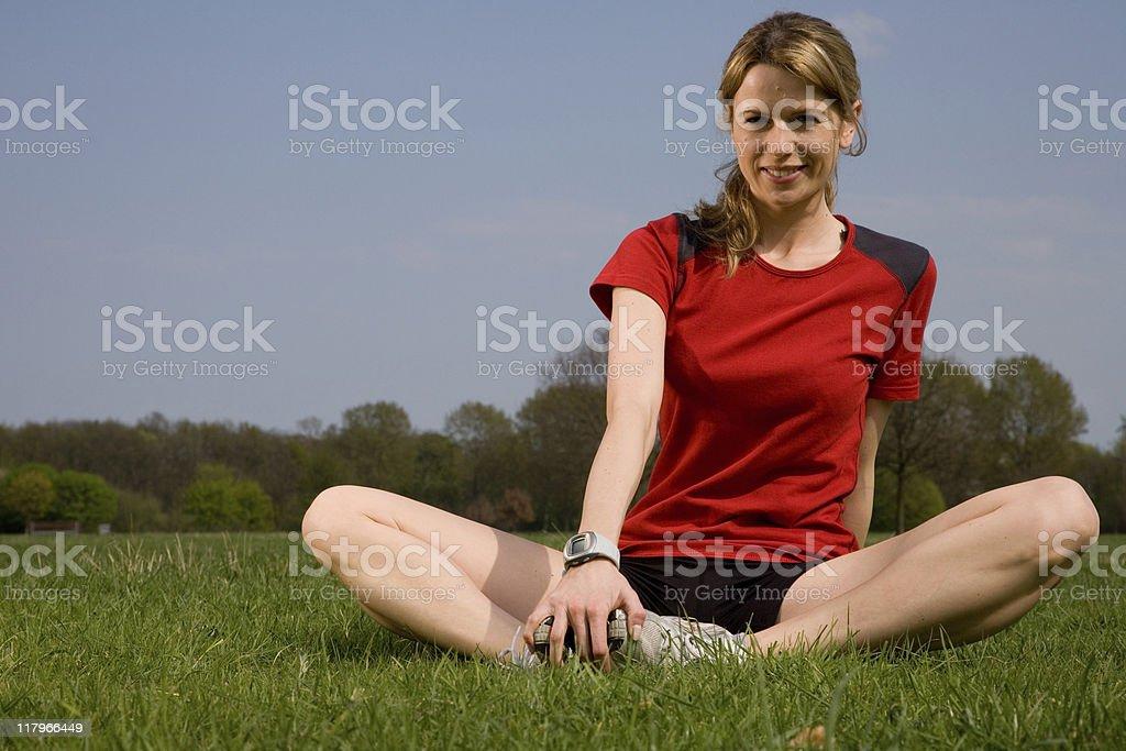 Outdoor Fitness Series stock photo