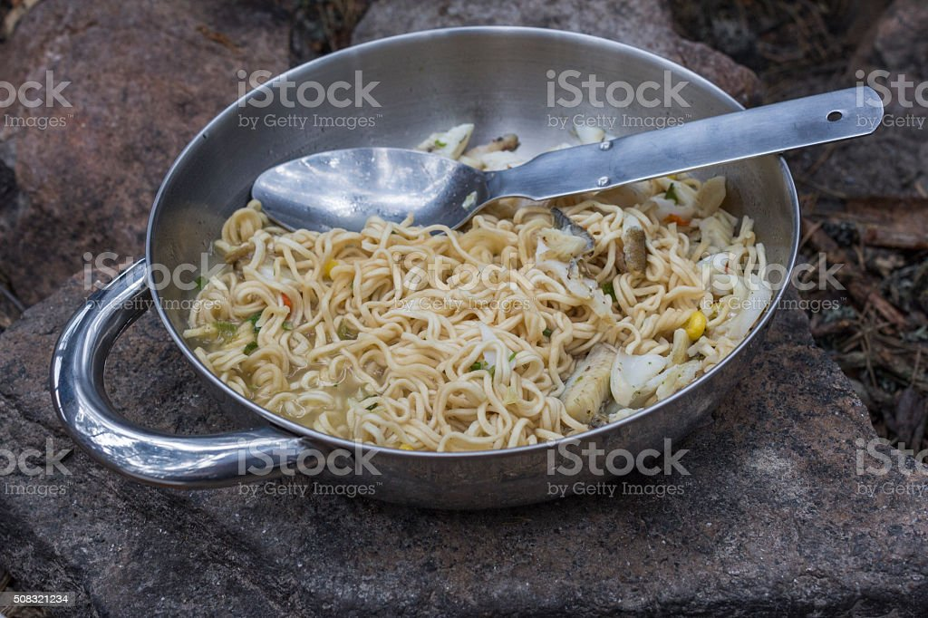 outdoor food stock photo