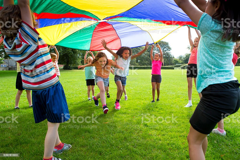 Outdoor Games stock photo