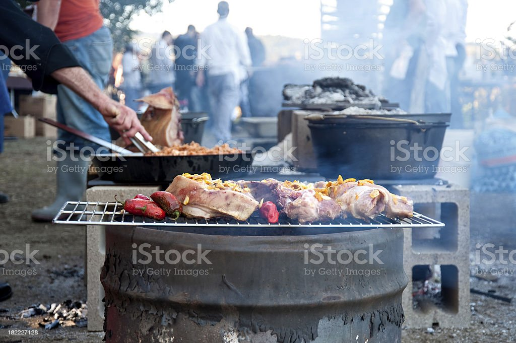 Outdoor Grill royalty-free stock photo