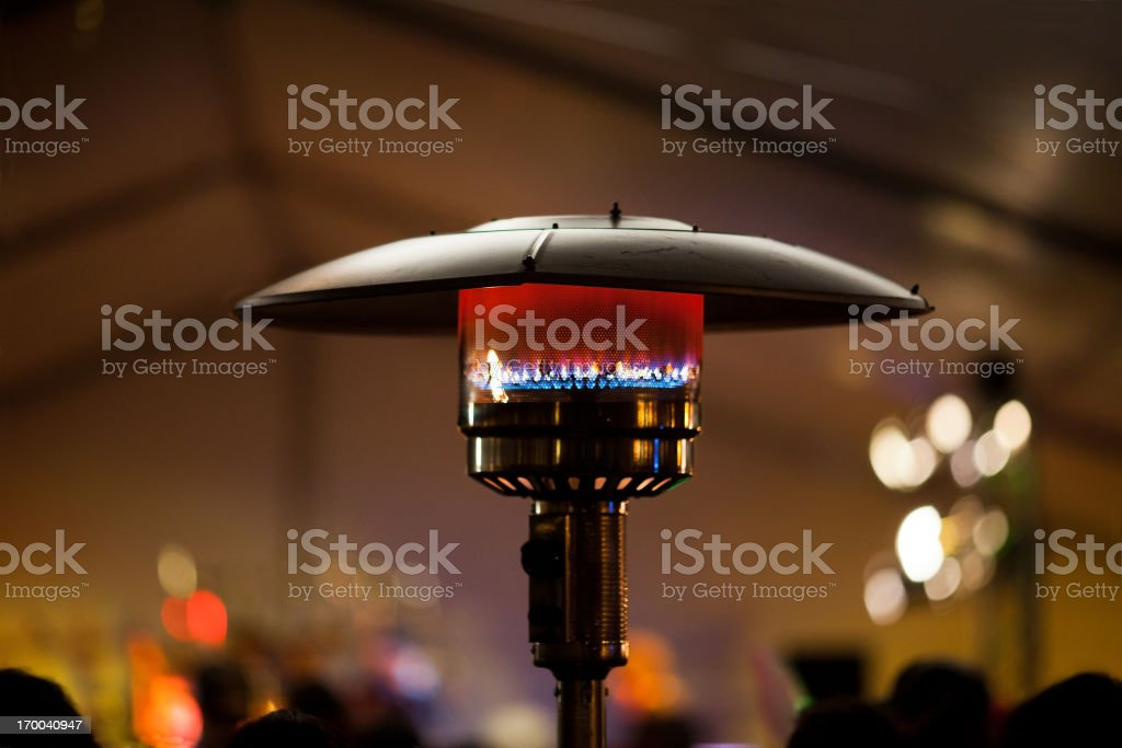Outdoor Heater royalty-free stock photo