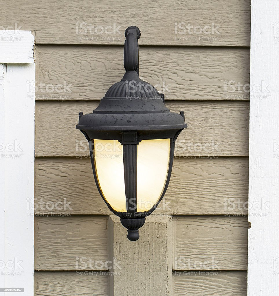 Outdoor House Light royalty-free stock photo