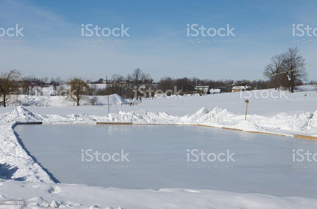 Outdoor Ice Rind stock photo