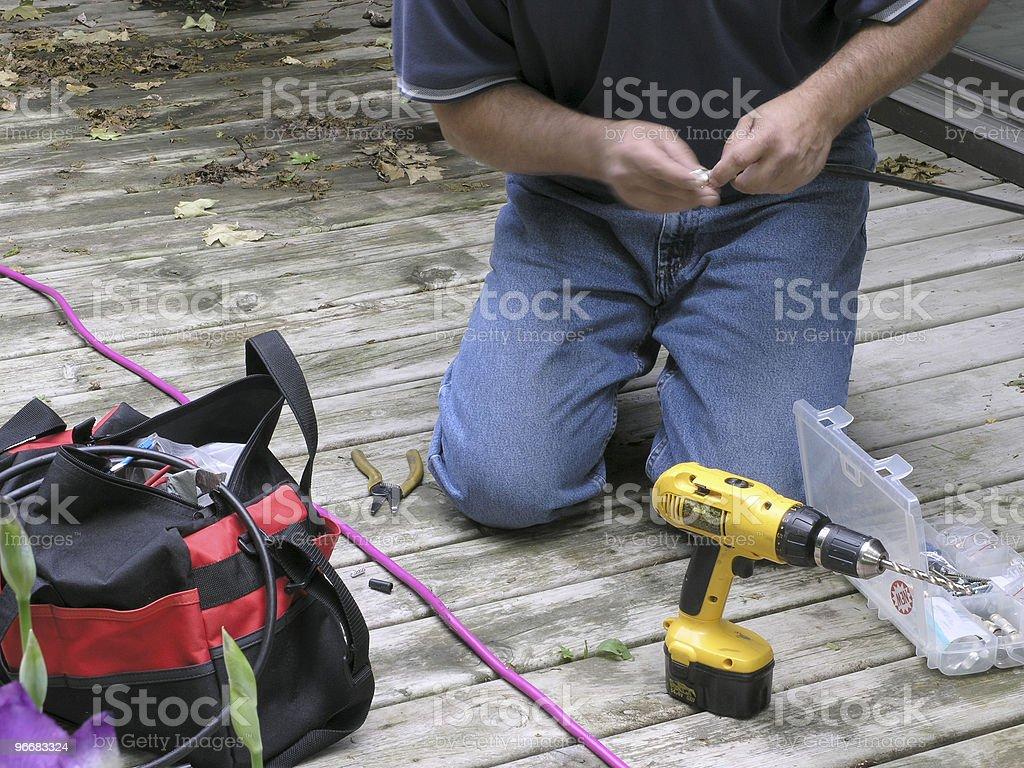 Outdoor Installation stock photo