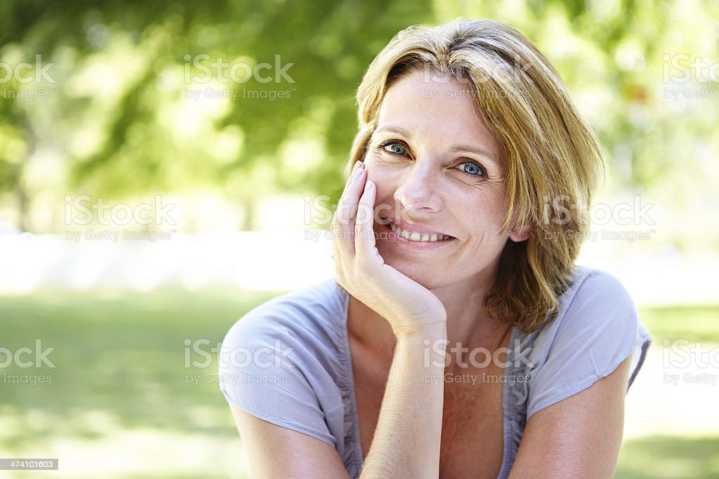Outdoor leisure time stock photo