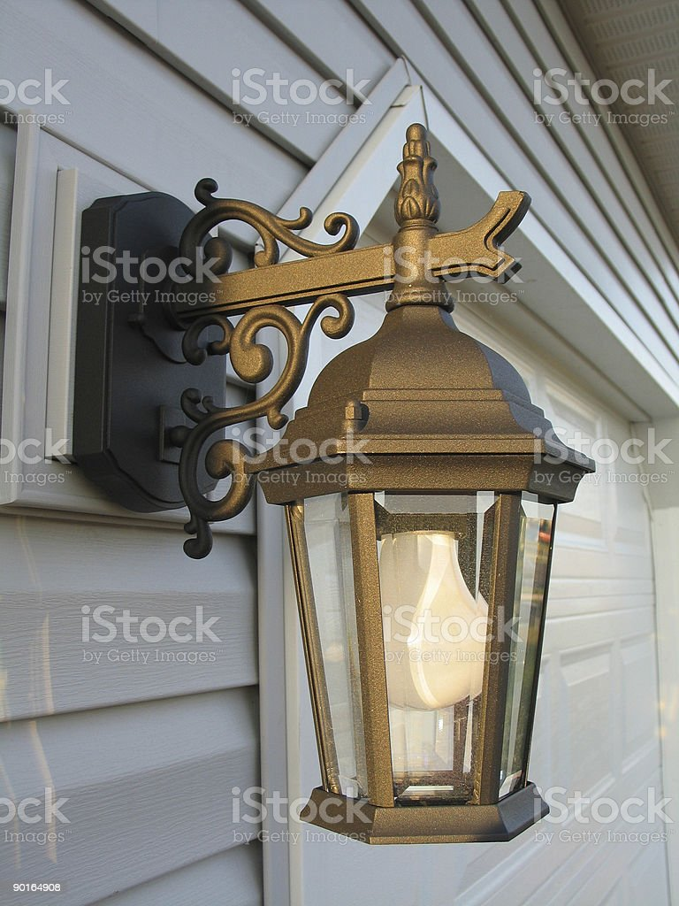 Outdoor Light royalty-free stock photo