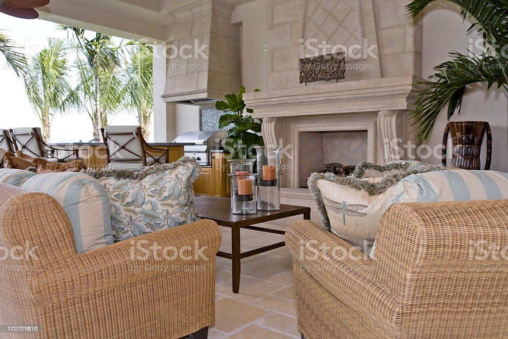 Outdoor Living royalty-free stock photo