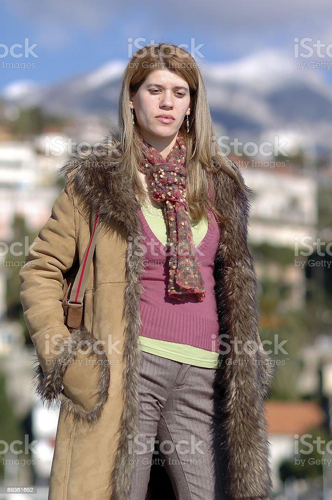 Outdoor Model stock photo