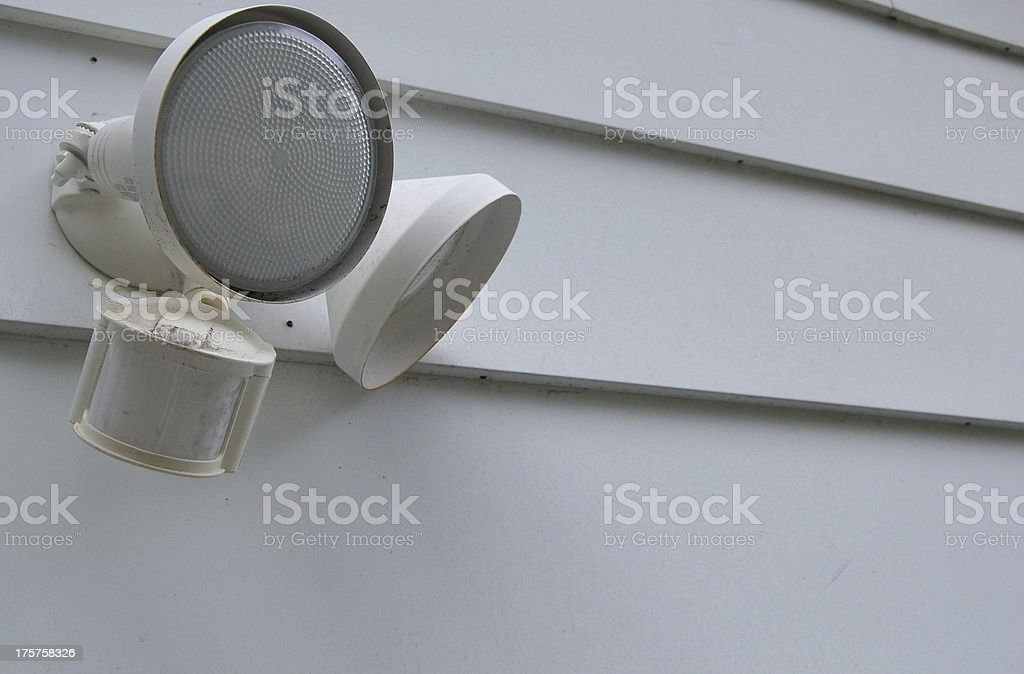 Outdoor Motion Light royalty-free stock photo