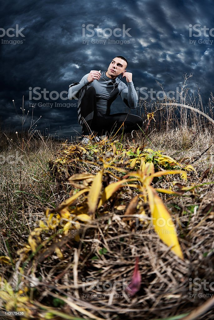 Outdoor music royalty-free stock photo