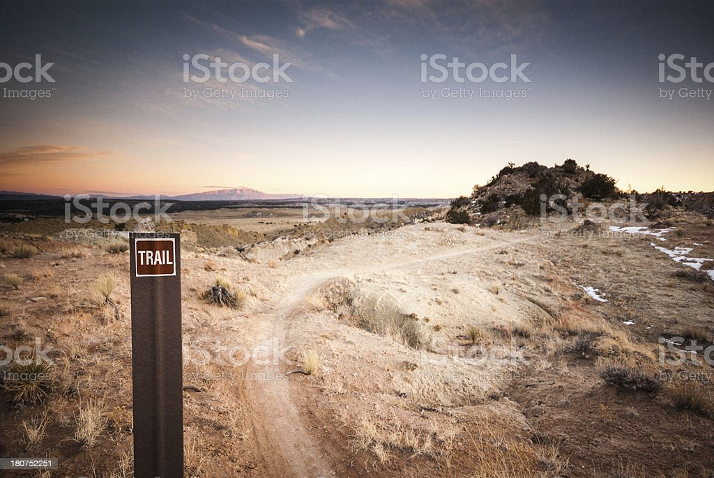 outdoor nature and recreation trail royalty-free stock photo