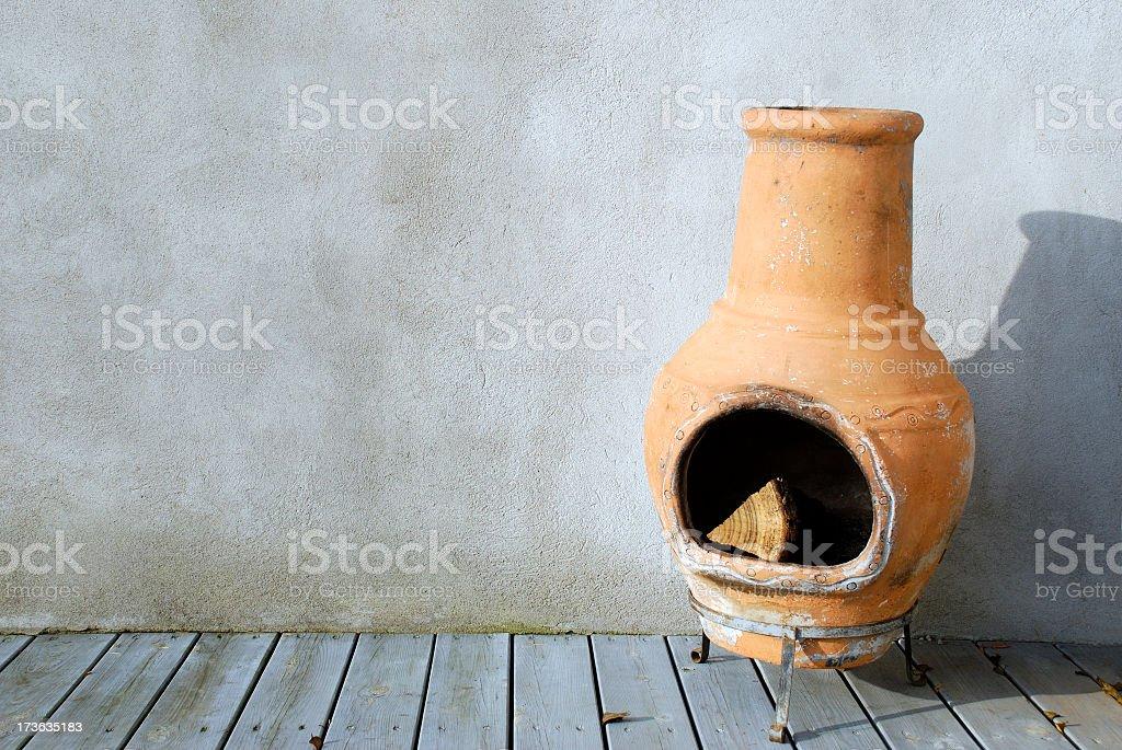Outdoor oven stock photo