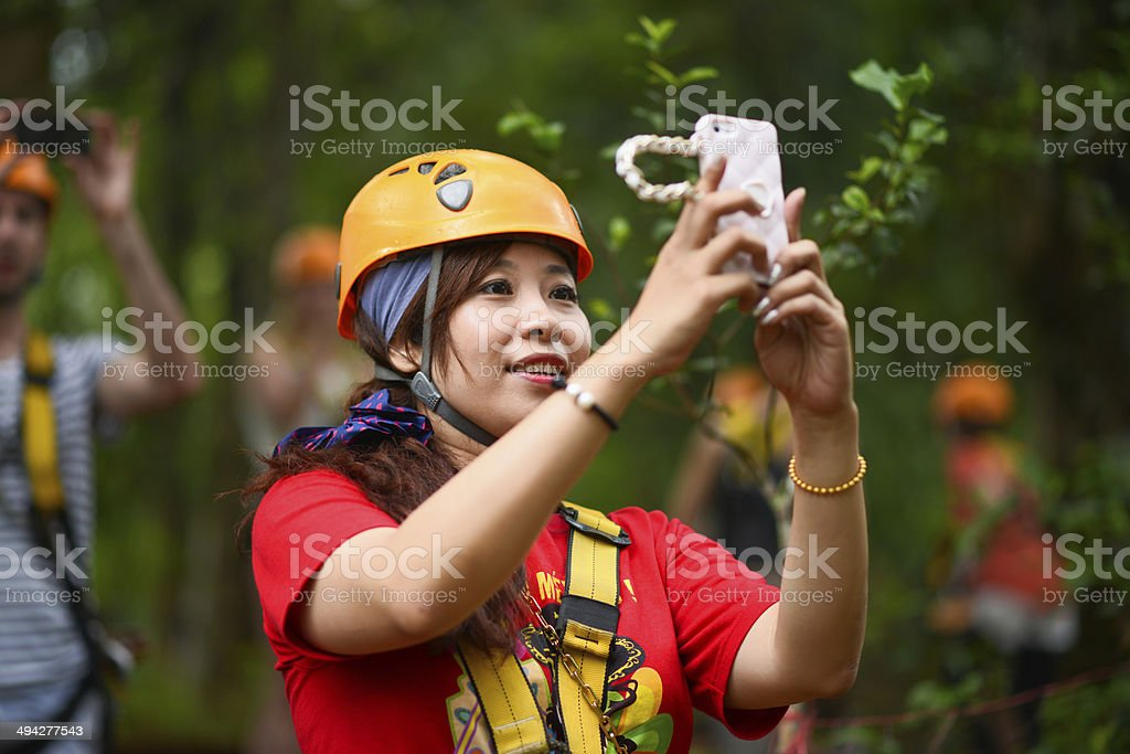 Outdoor Photographing stock photo