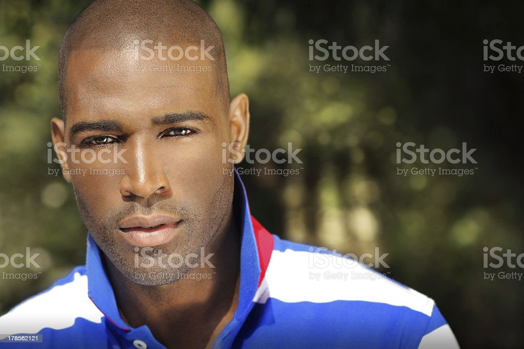 Outdoor portrait of man royalty-free stock photo