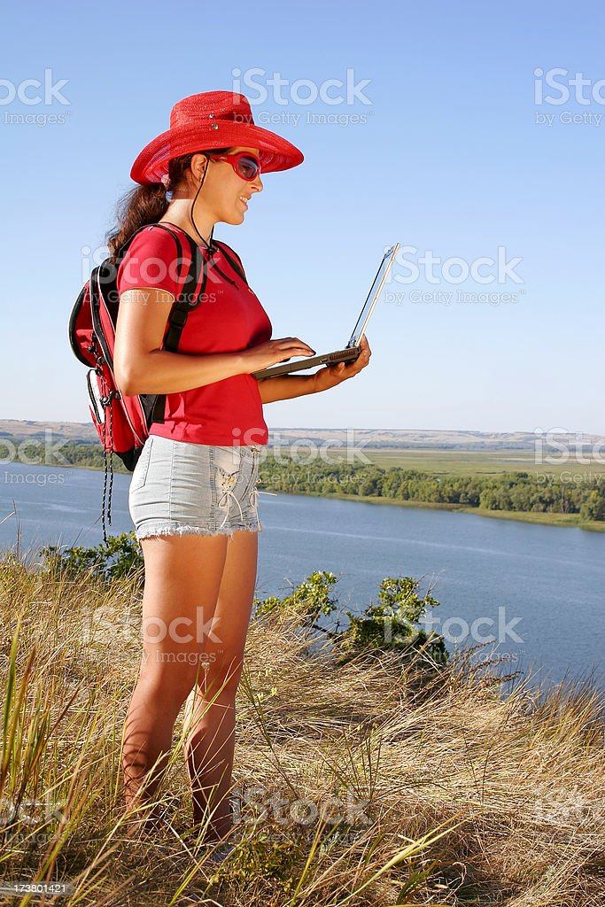 Outdoor research royalty-free stock photo