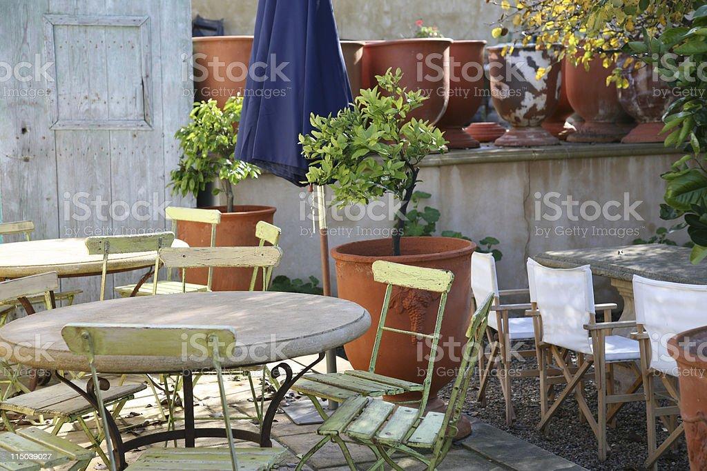 Outdoor retreat royalty-free stock photo