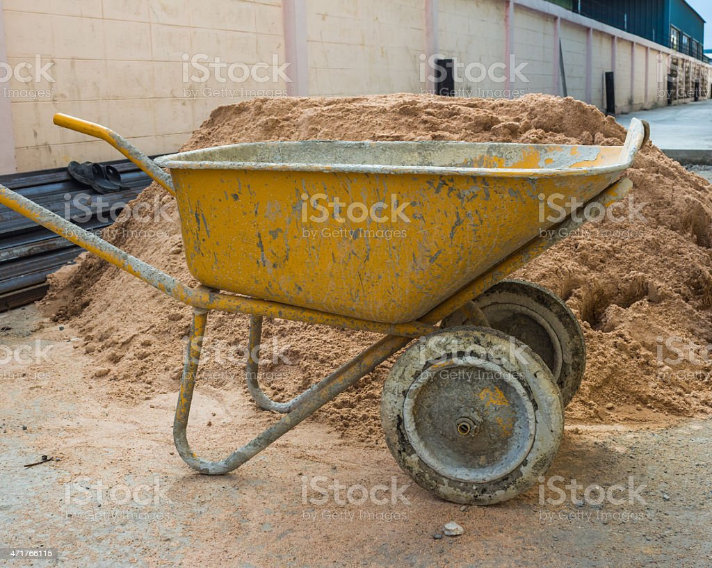 outdoor sand royalty-free stock photo