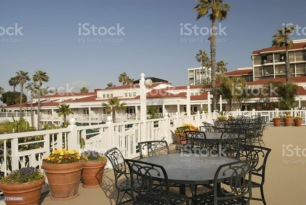 Outdoor Setting royalty-free stock photo