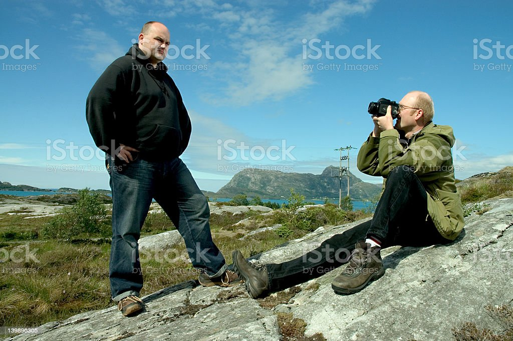 outdoor shooting royalty-free stock photo
