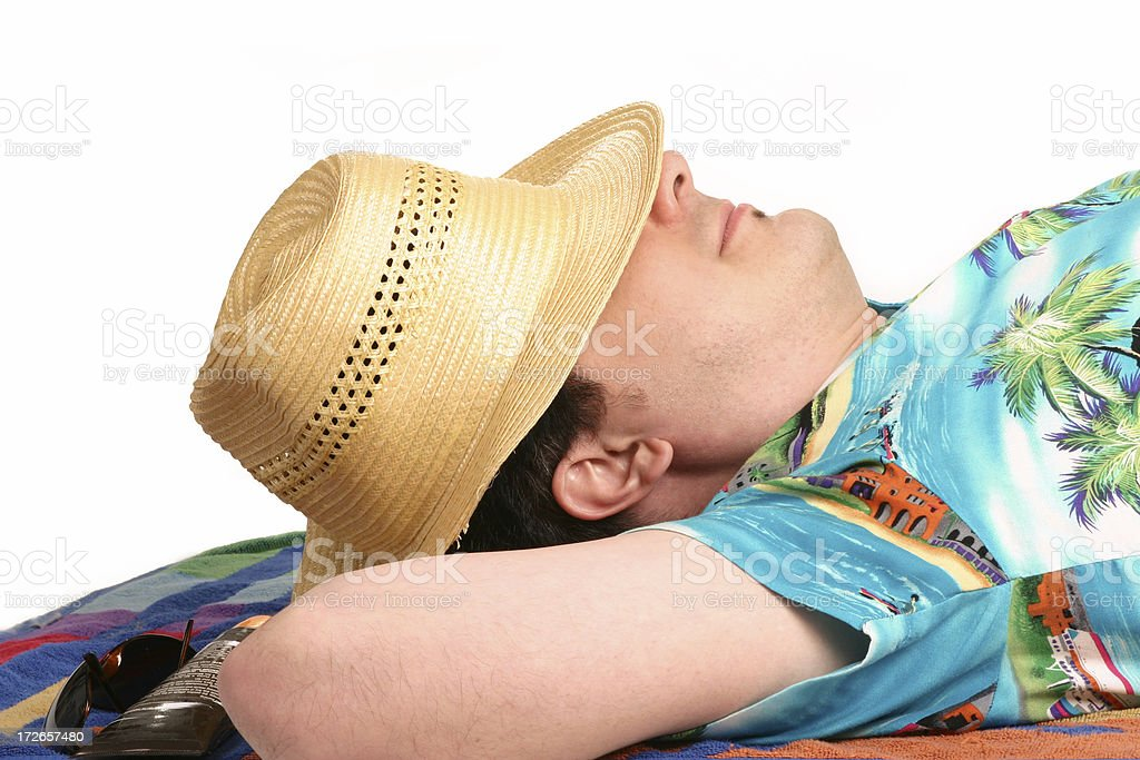 Outdoor Siesta royalty-free stock photo