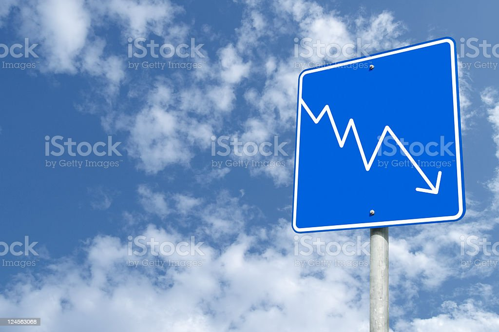 Outdoor Sign Chart royalty-free stock photo