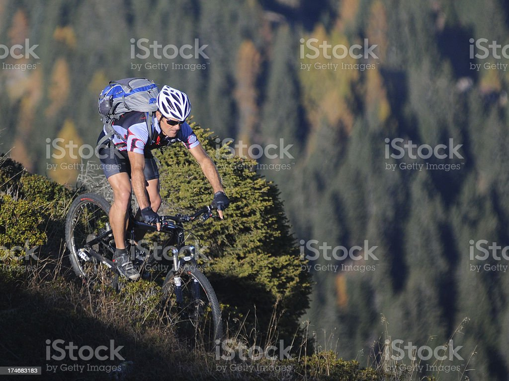 outdoor sport mounatinbiking stock photo