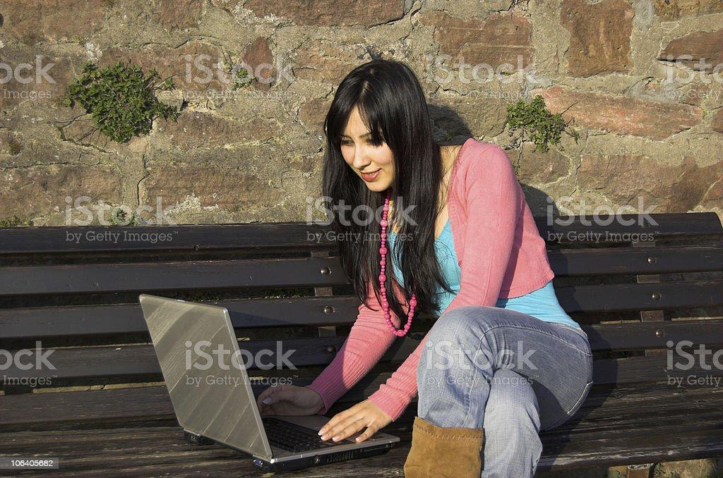 Outdoor study royalty-free stock photo