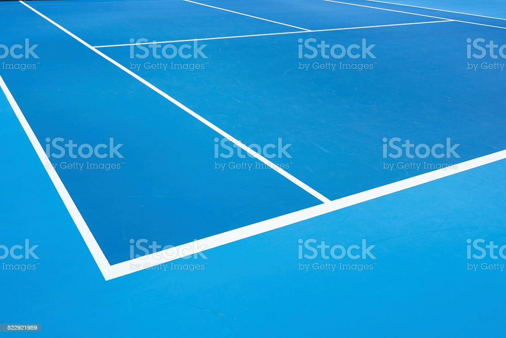 Outdoor Tennis Net Shallow Depth of View stock photo
