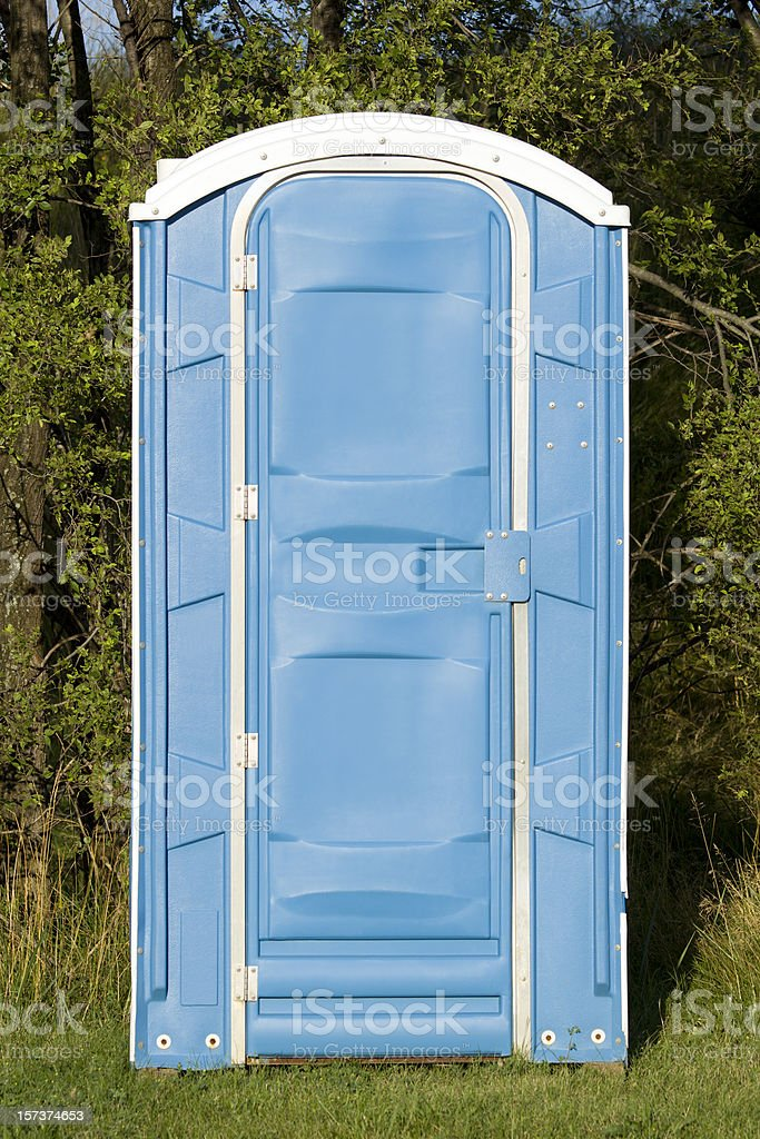 Outdoor Toilet stock photo