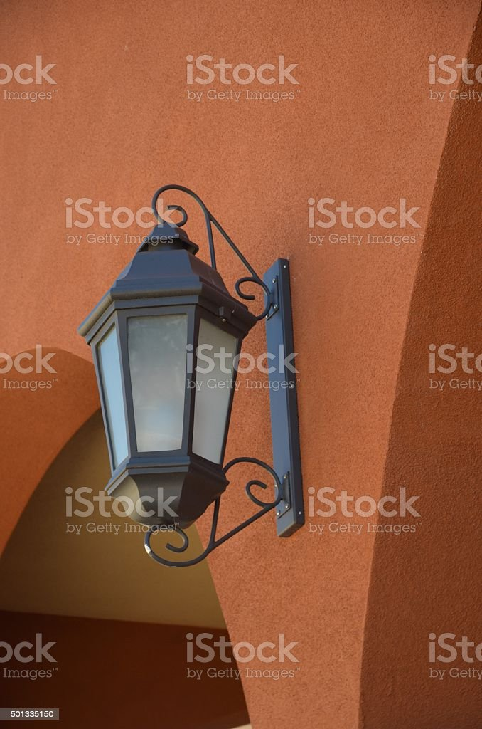 Outdoor Wall Sconce Lighting royalty-free stock photo