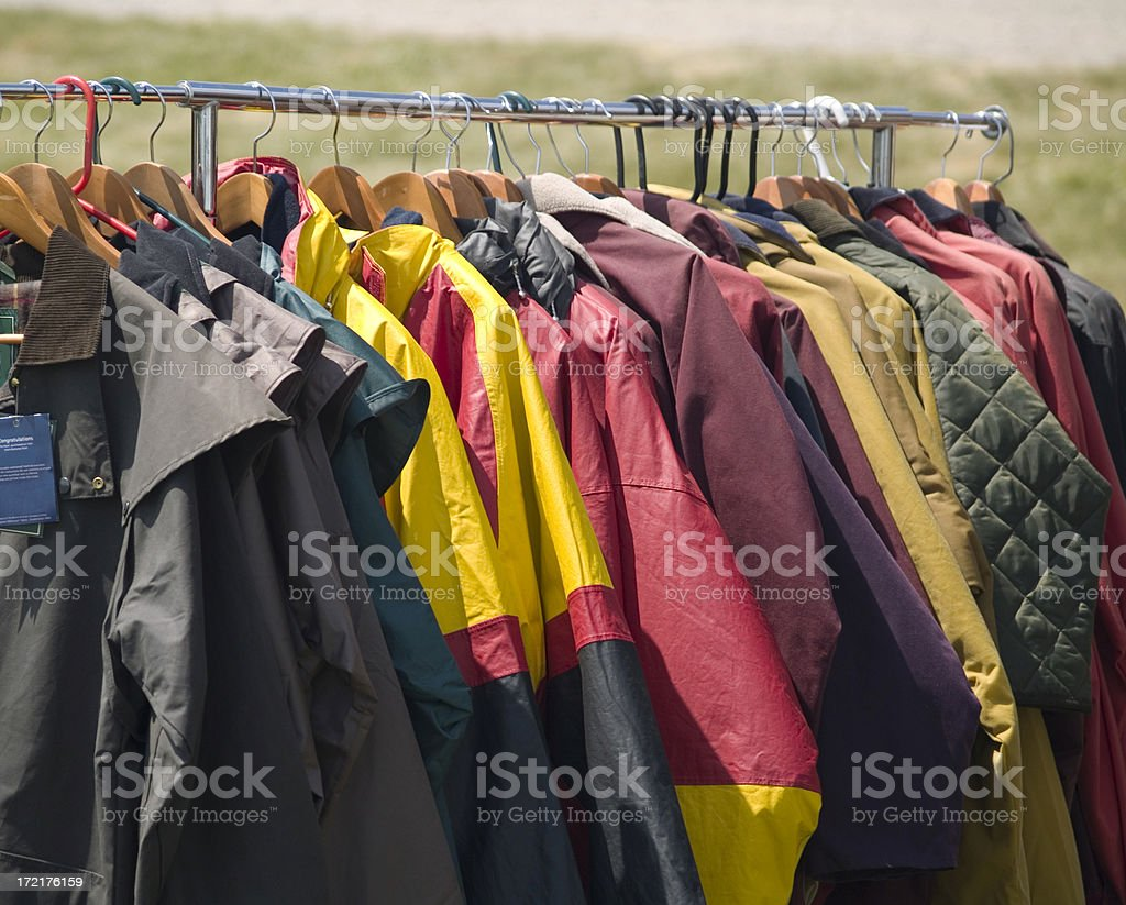 Outdoor Wear royalty-free stock photo