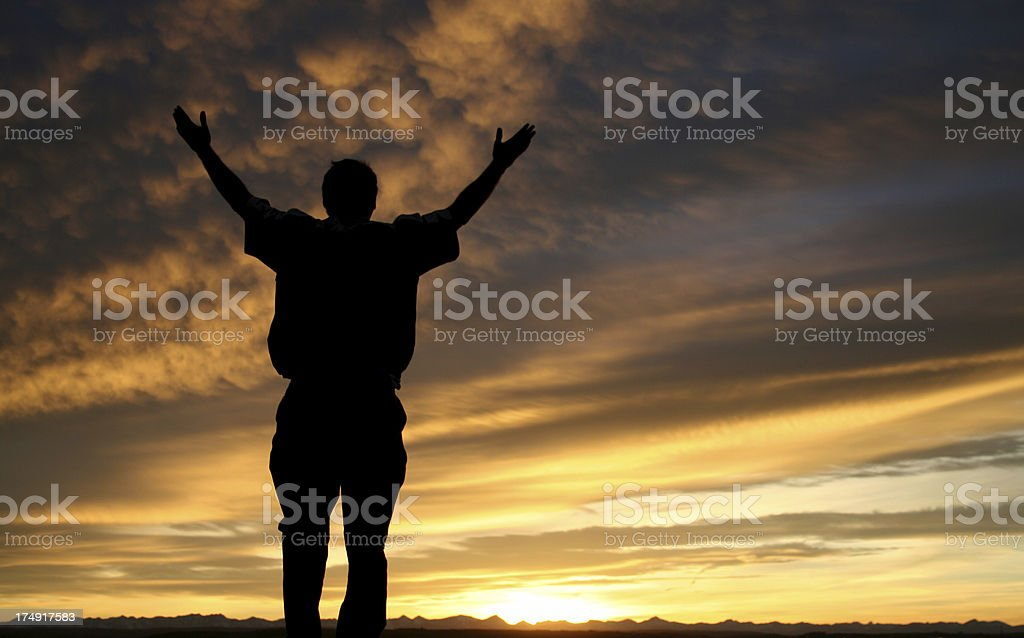 Outdoor Worship royalty-free stock photo