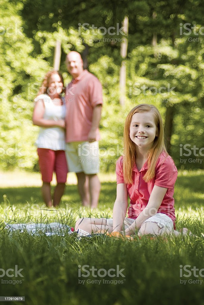 Outdoors Family Series royalty-free stock photo