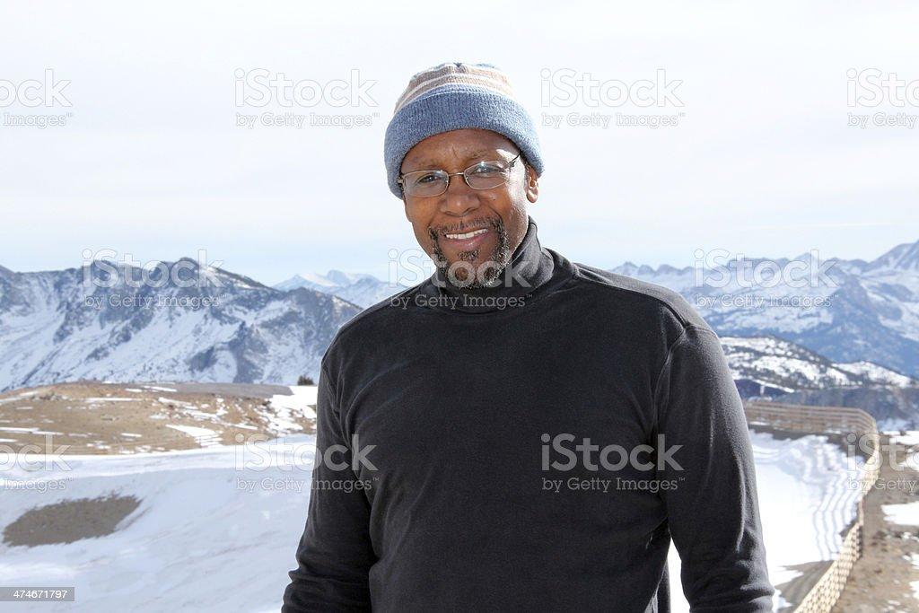 Outdoorsman stock photo