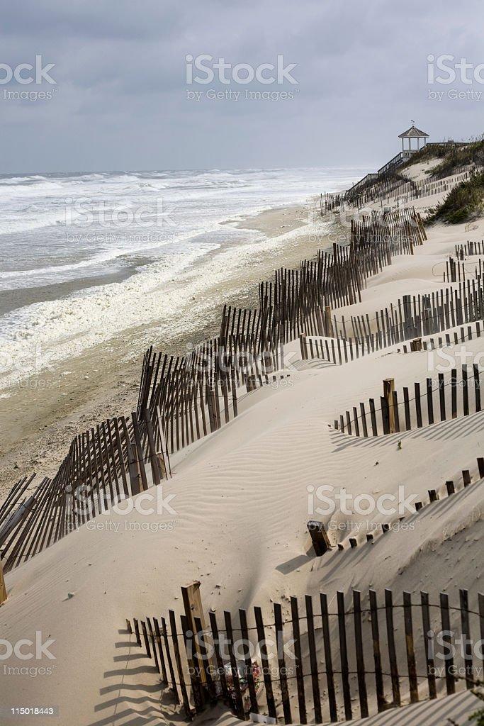 Outer Banks Beach stock photo