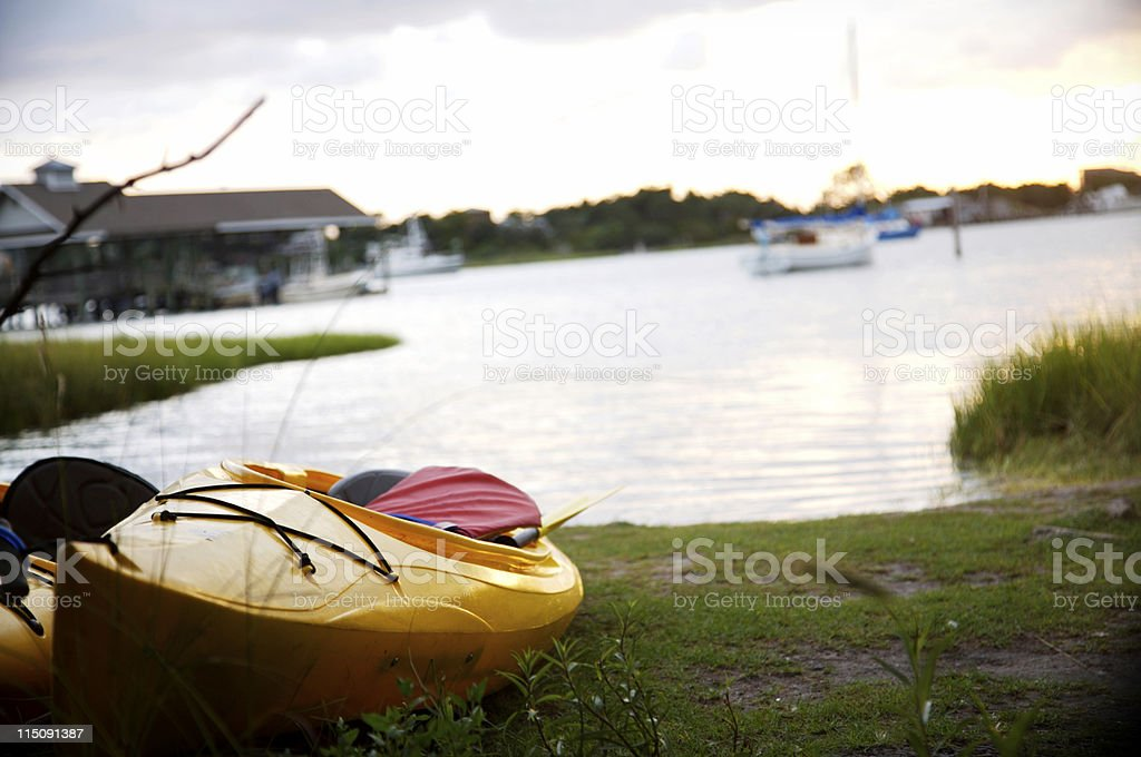 outer banks coastal scenes stock photo