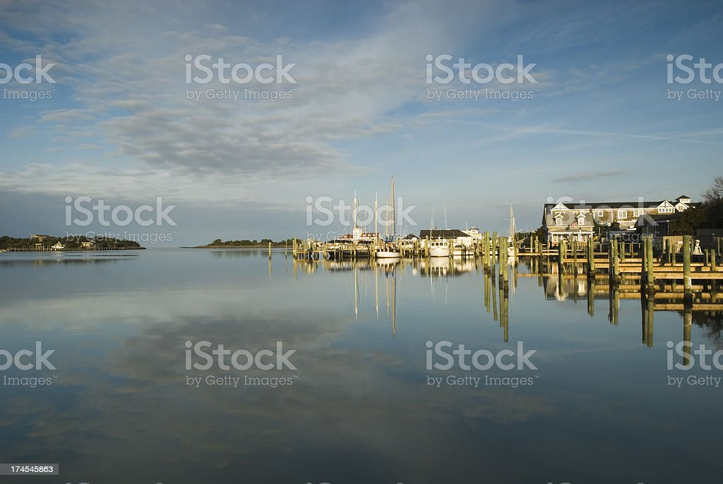 Outer Banks morning - II stock photo