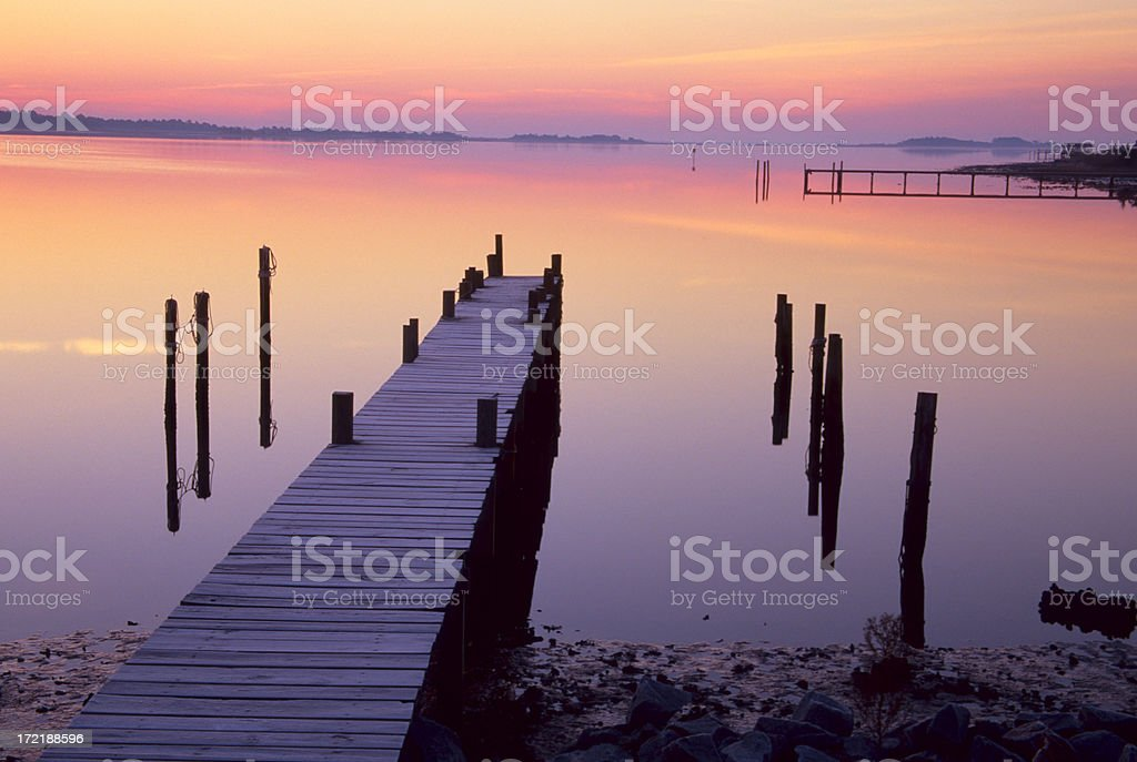 Outer Banks Sunrise royalty-free stock photo