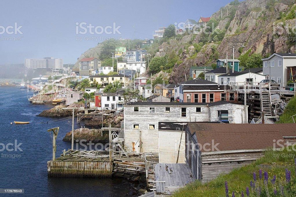 Outer Battery, St John's, Newfoundland stock photo