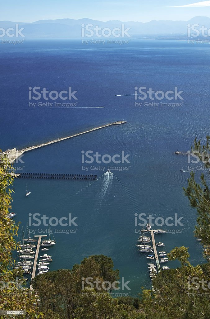 Outer pier royalty-free stock photo