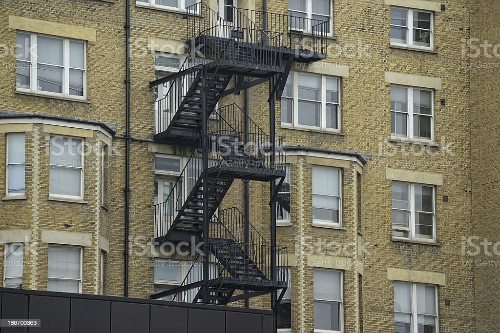 Outer stairs royalty-free stock photo