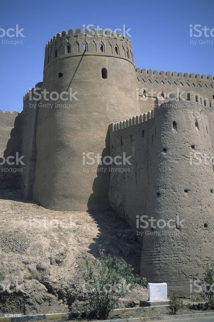 Outer walls, towers stock photo